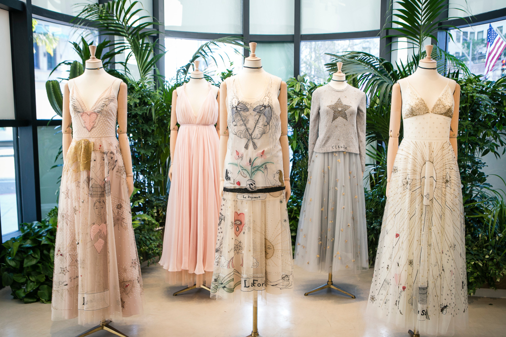 Dior are bringing Maria Grazia Chiuri's first collection for the heritage house to consumers in style, with a selection of pop-up stores and special in-store merchandising.