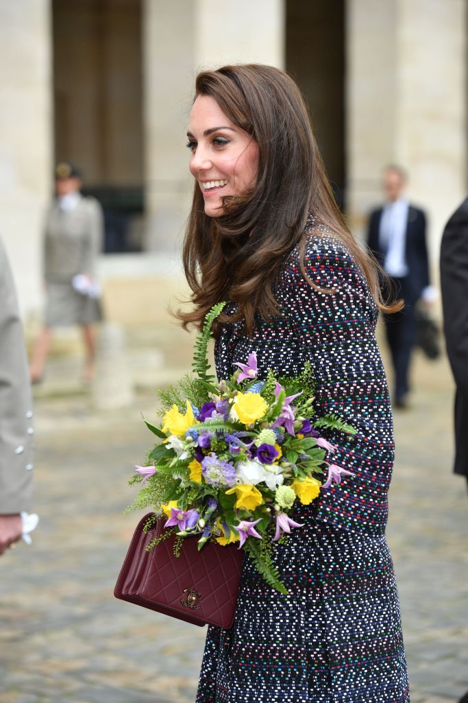 Wills and Kate are in Paris, and Kate wore