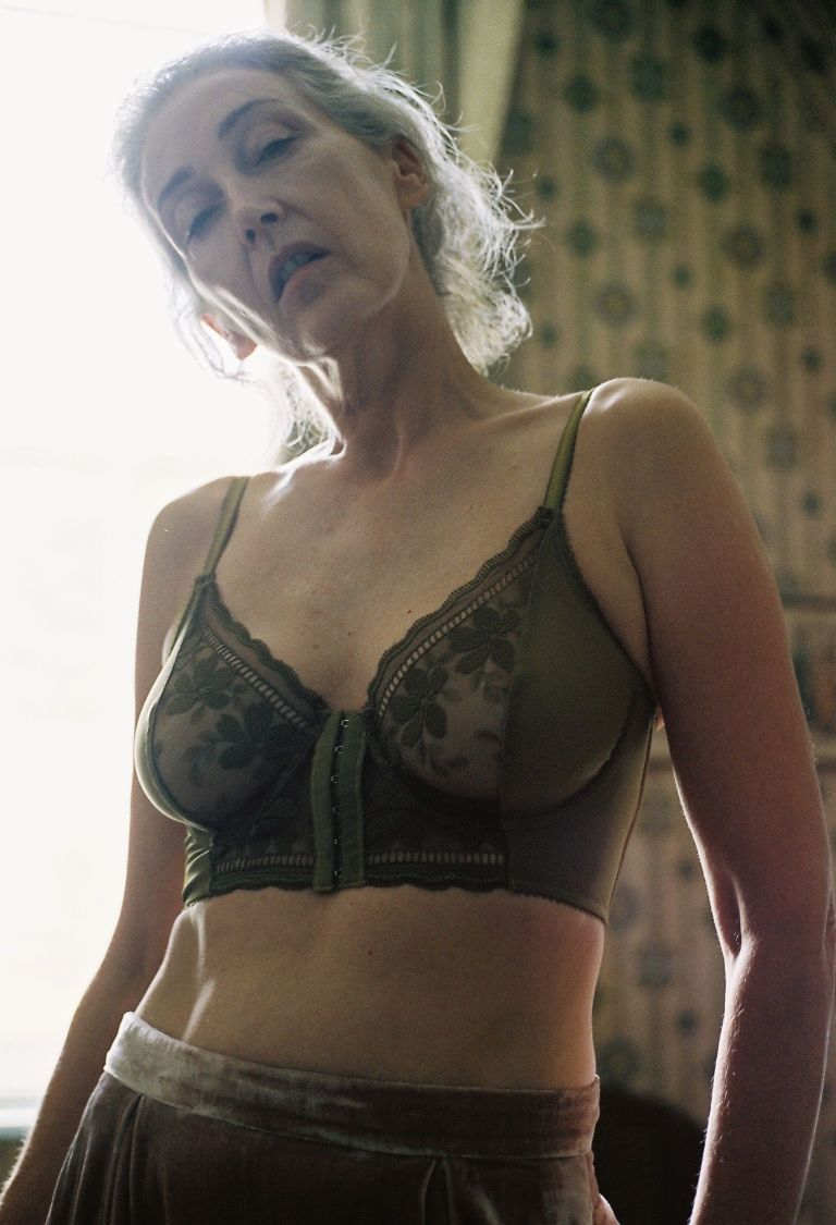 Lonely Lingerie has used 56-year old model Mercy Brewer in their latest campaign.
