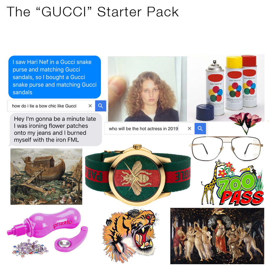 Gucci launched their new watch, and marked the release with memes.