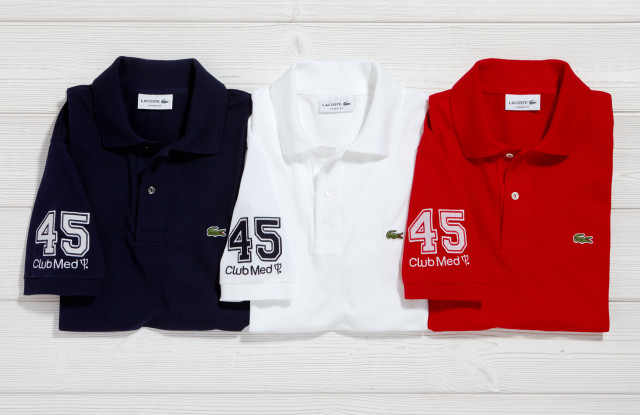 Club Med has teamed up with Lacoste to host a month long stint of golf and tennis events at four of their European resorts. Lacoste have designed a limited edition capsule collection of polo shirts for the partnership which will be available on their website as well as at a limited number of Club Med resorts.