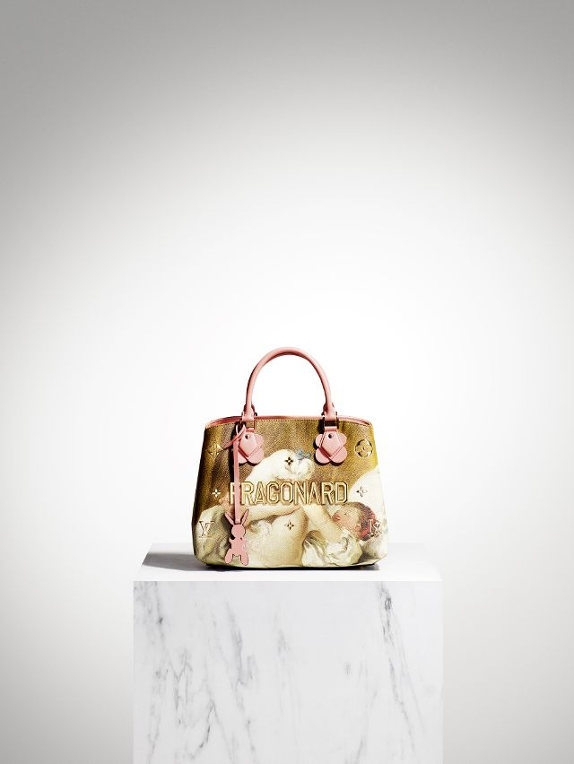 Louis Vuitton has released a collaboration with Jeff Koons which reimagines famous artworks onto classic bag shapes.