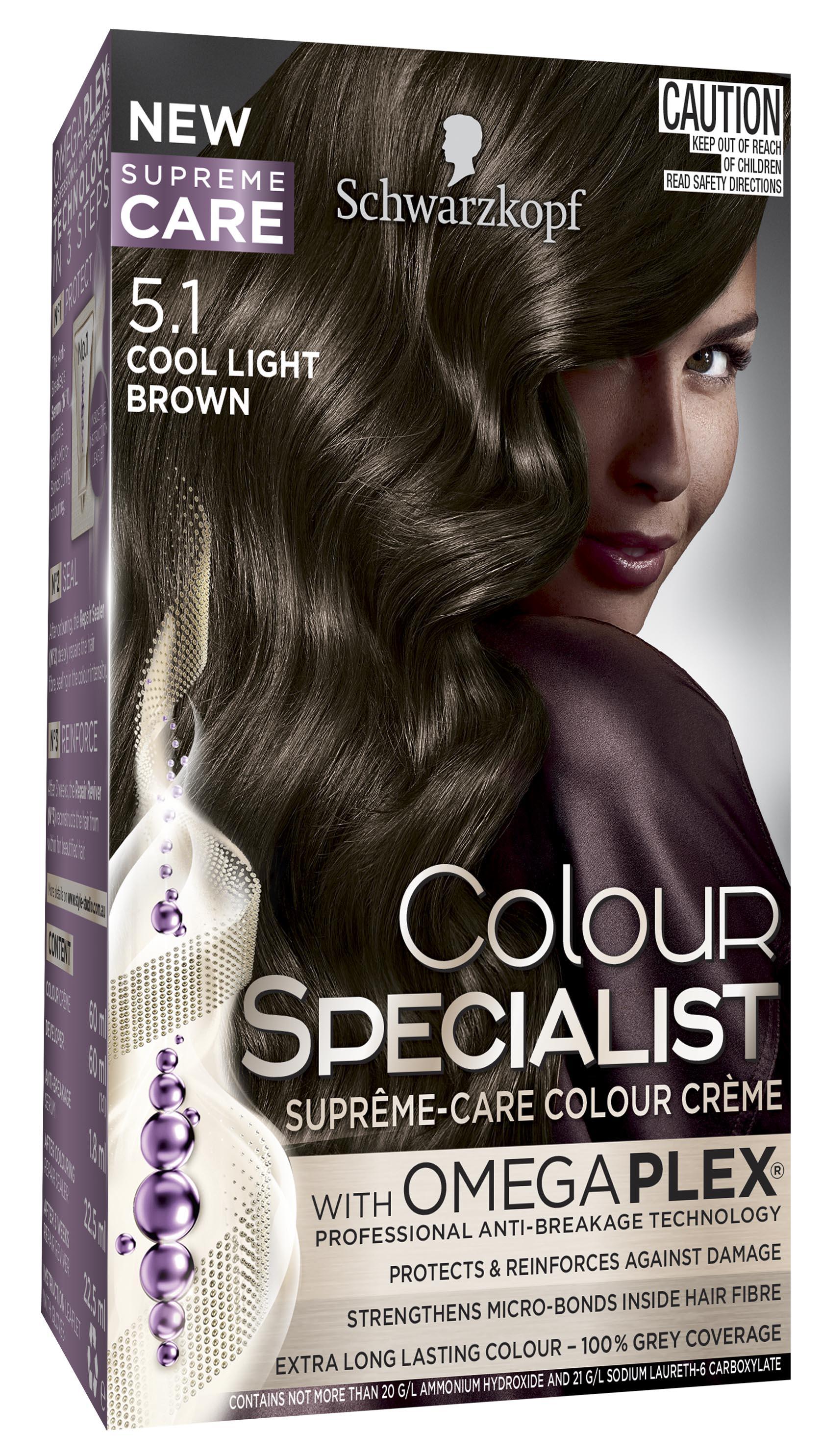 Colour Specialist 51 Cool Light Brown 3D LF-0040884