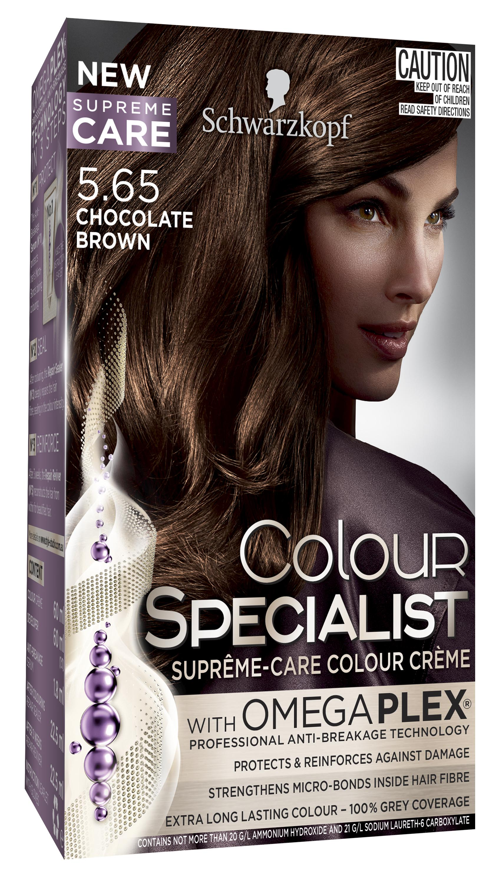 Colour Specialist 565 Chocolate Brown 3D LF-0040885