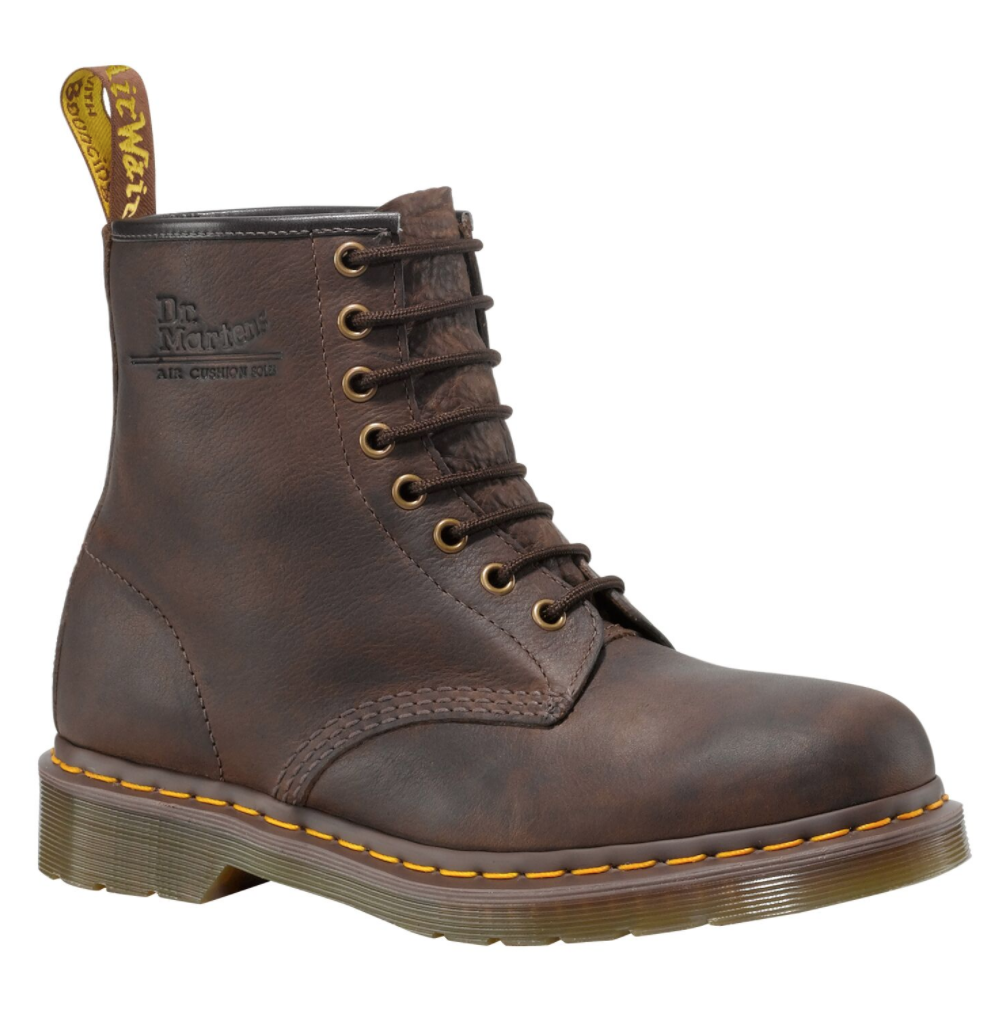 1460 8 Up Brown Leather Boot $349.00
