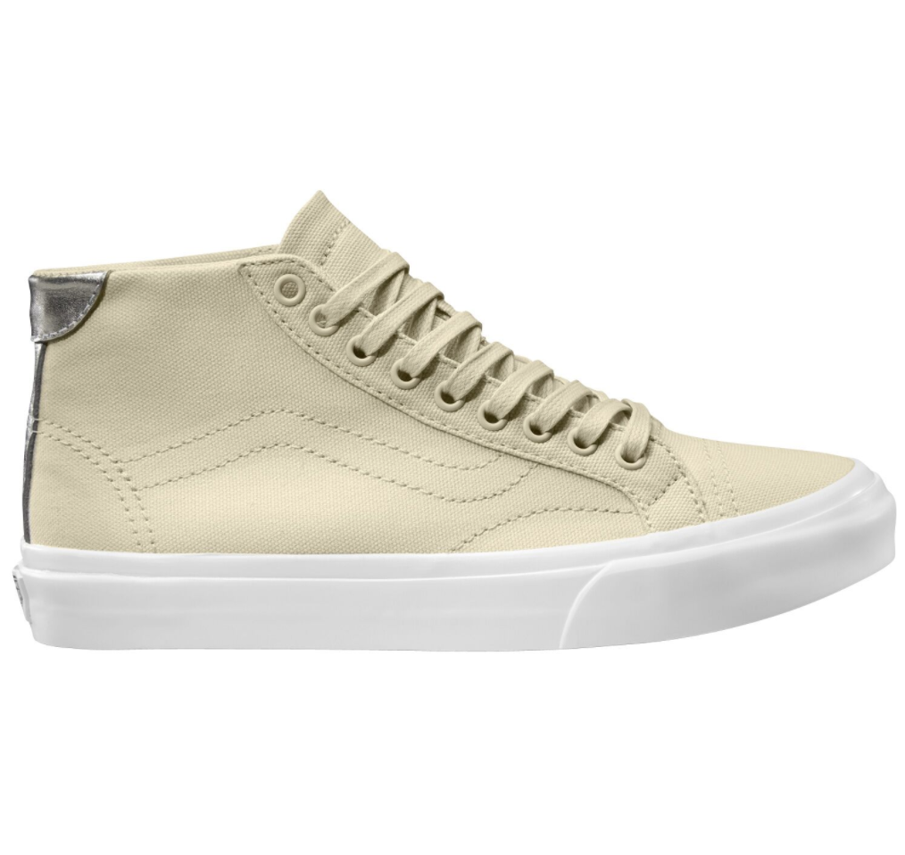 Vans Court Mid Canvas Cloud Cream $139.90