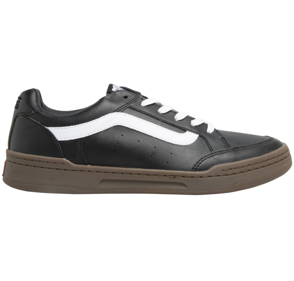 Vans Highland Leather Black Dark Gum $199.90