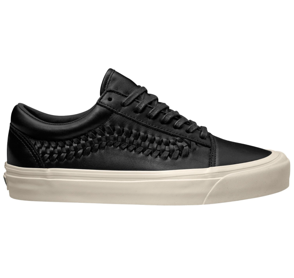 Vans Old Skool Weave DX Leather Black $279.90