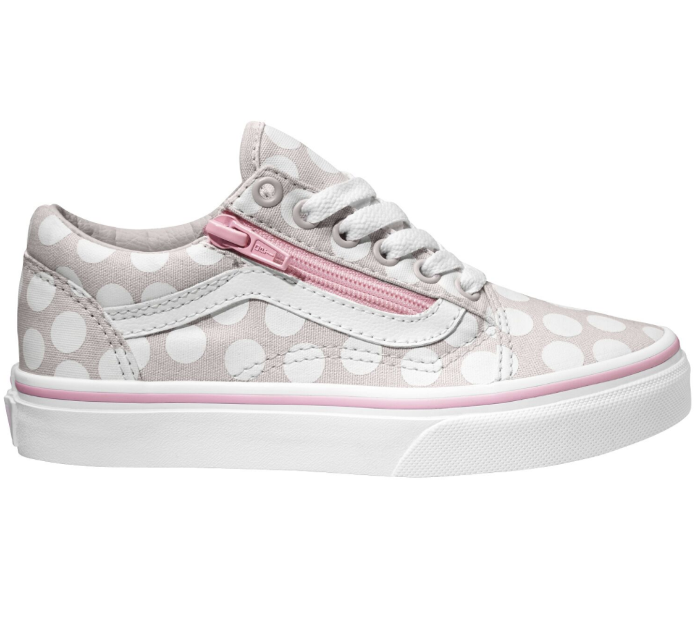 Vans Old Skool Zip Youth Polka Dot $99.90