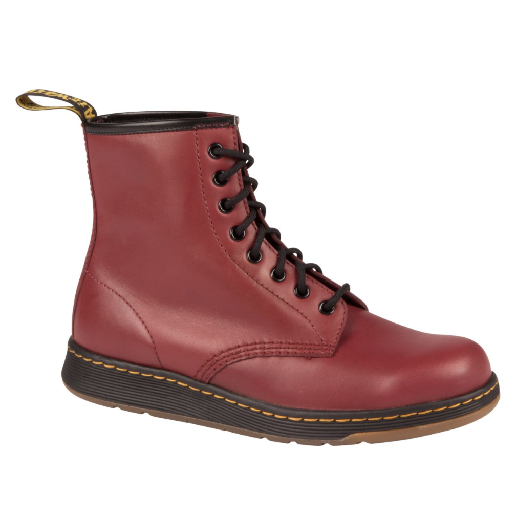 Newton 8 Eye Boot Cherry Red $