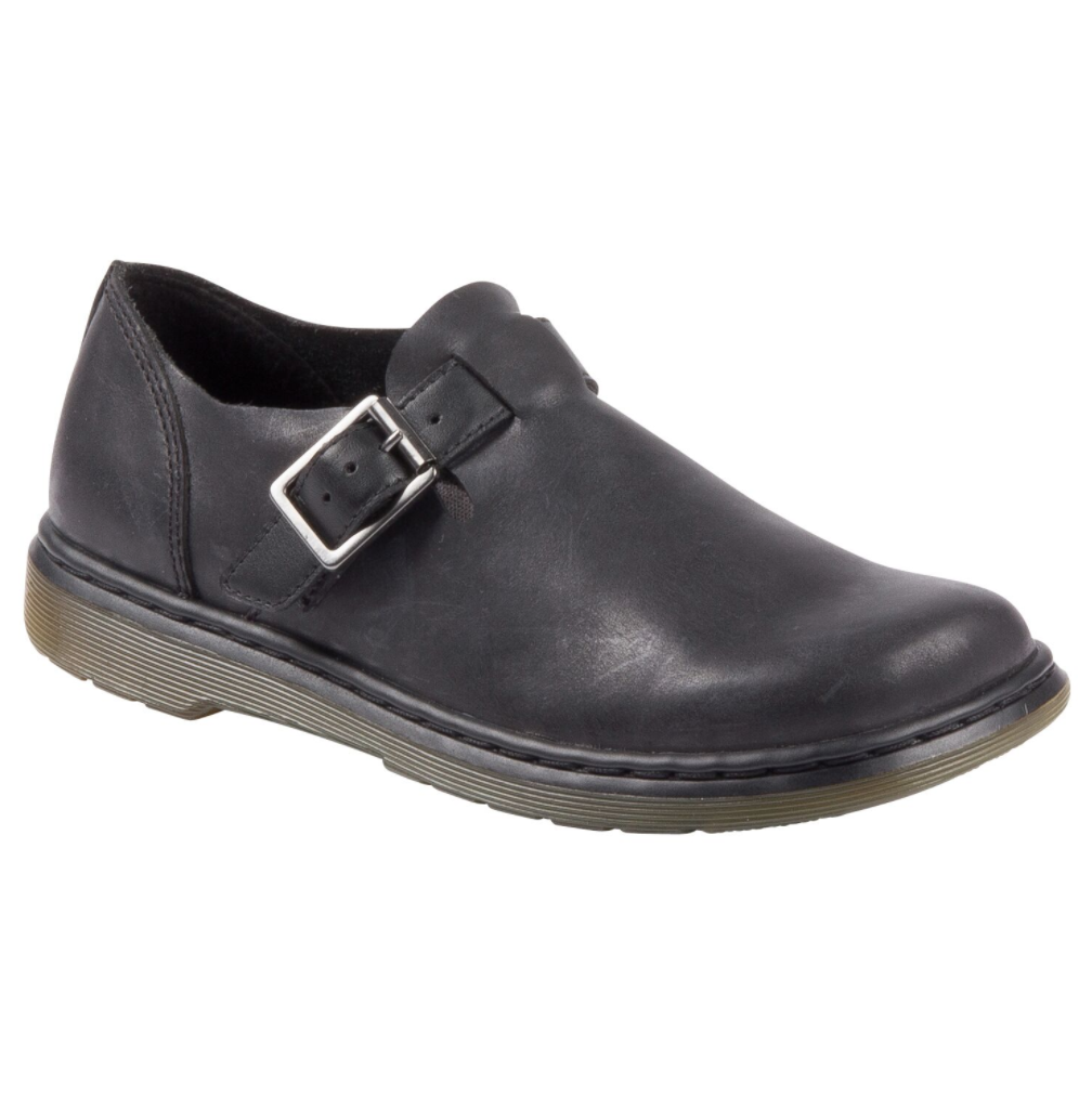 Patricia Buckle Shoe Black $239.00