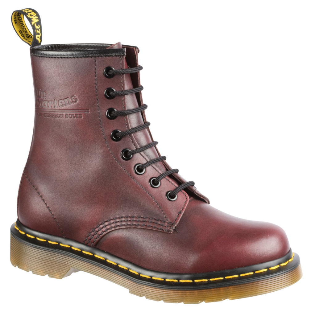 1460 8 Eye Boot Red Vintage -$319.00