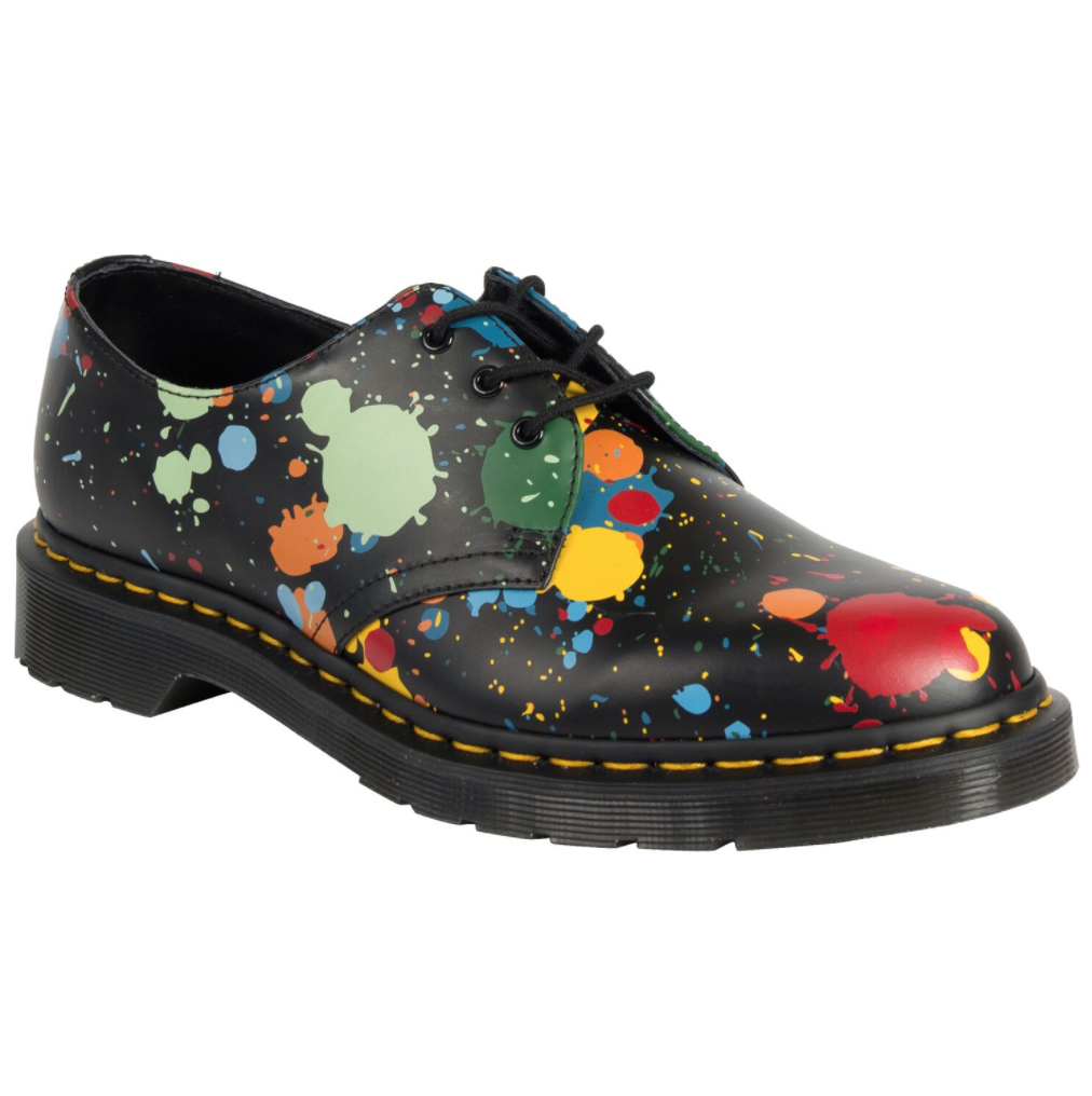 1461 3 Eye Shoe Splatter $299.00