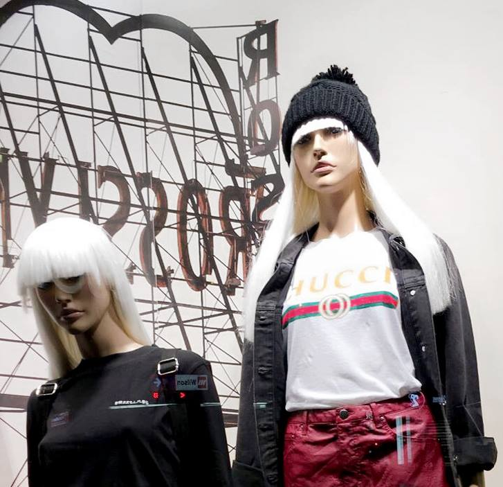 Glassons have faced backlash over their knock-off Gucci tee which read Hucci.