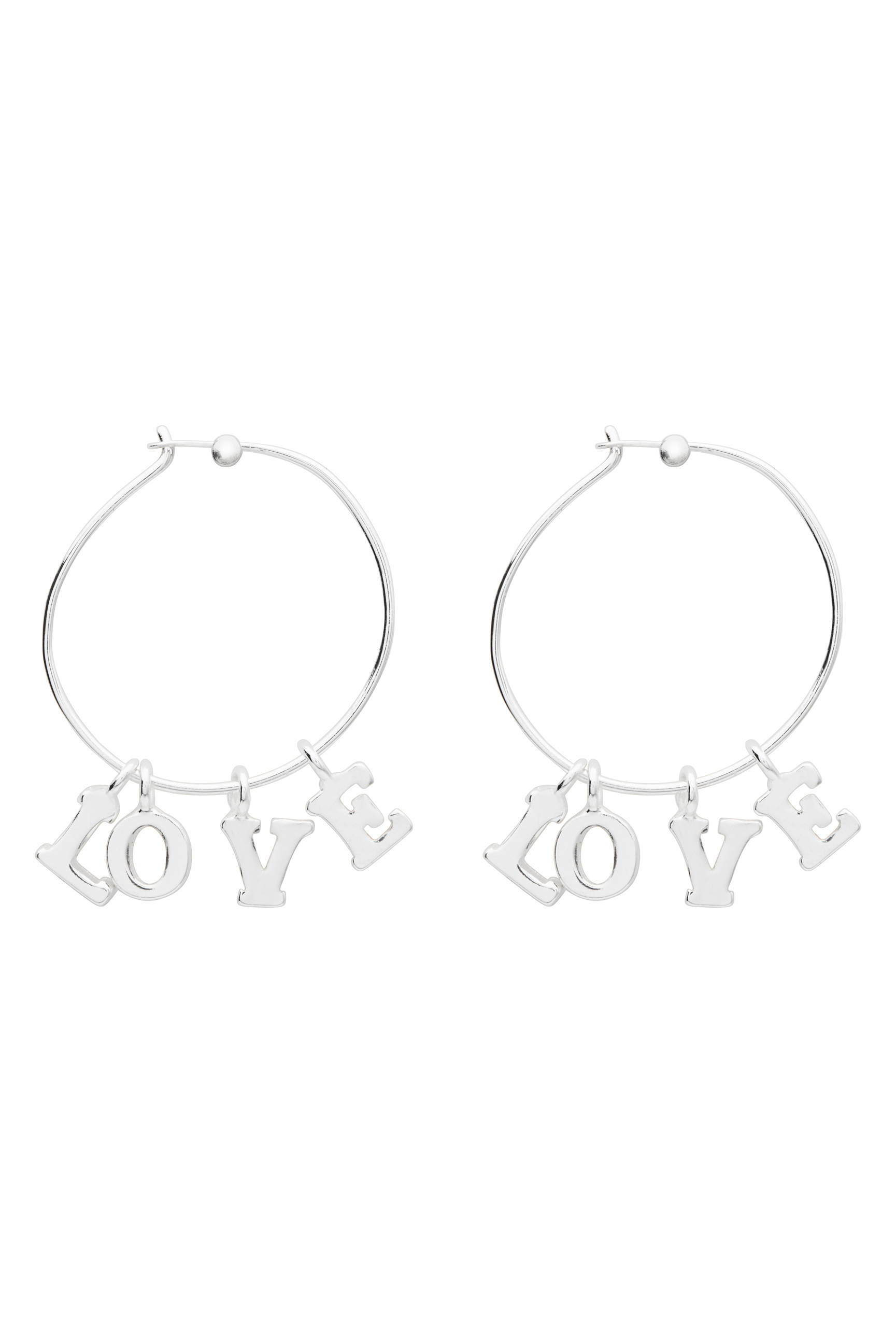 60209572_Witchery OCRF Love Earrings, RRP$29.90