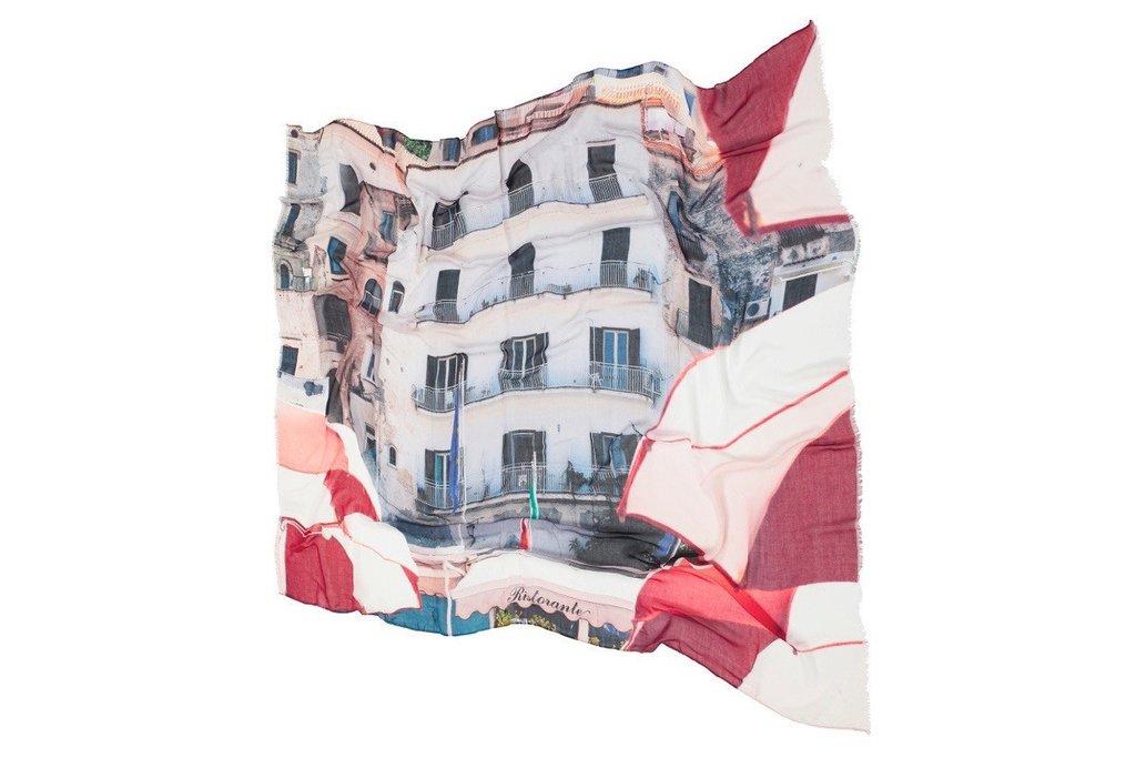 Amalfi La Spiaggia Scarf