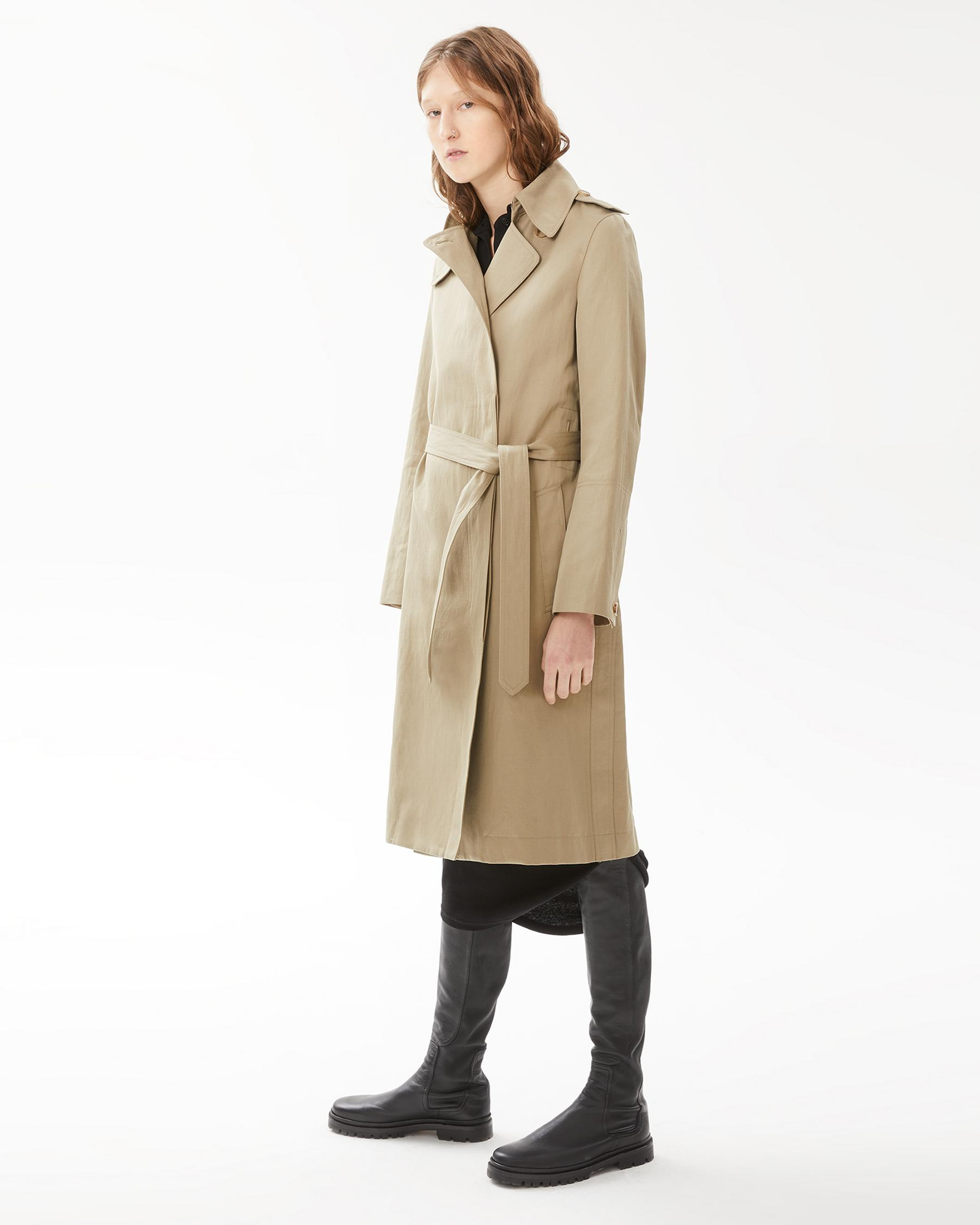Helmut Lang 10 - Belted Trench