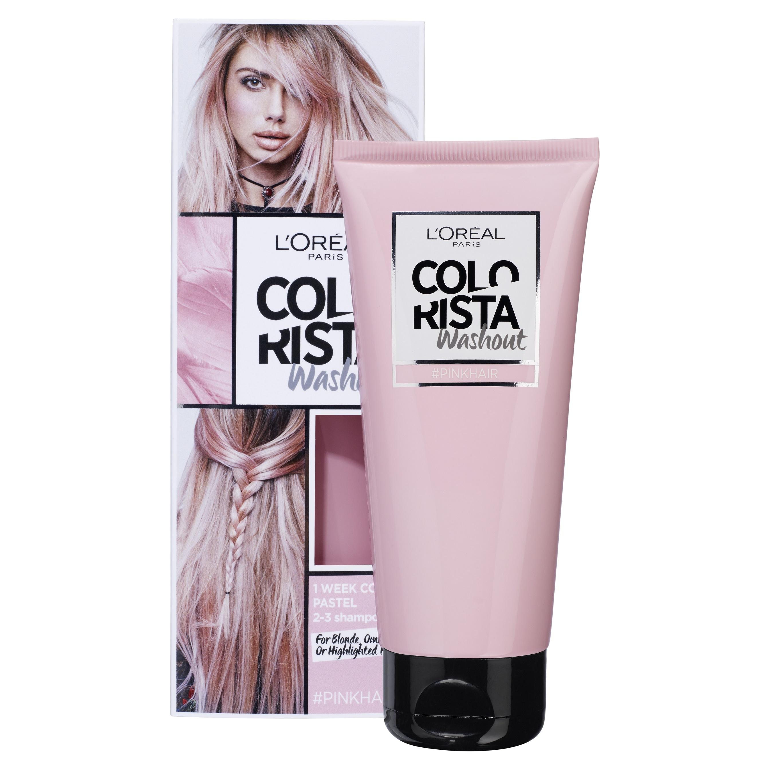 L'Oréal Paris Colorista Washout, Pink RRP$17.99