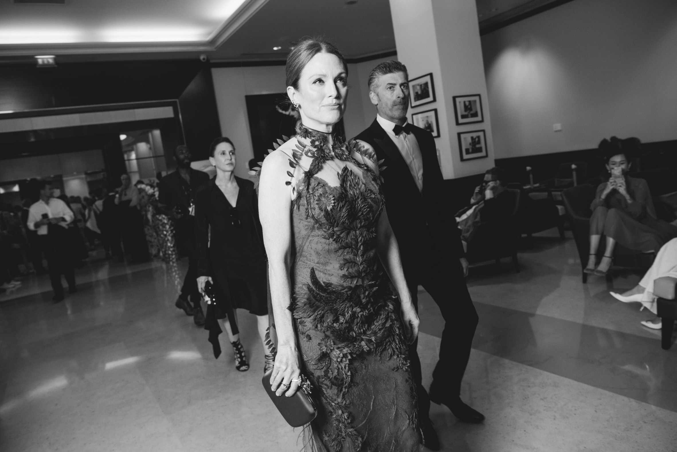 Julianna Moore arriving at the Cannes Fil Festival