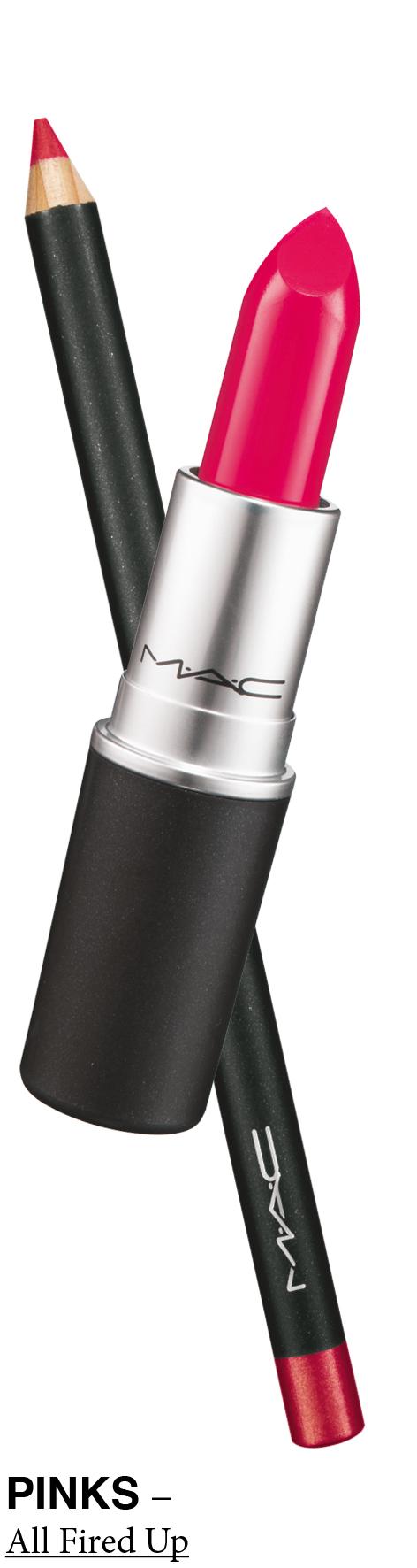 MAC Lip Kits PINKS All Fired Up