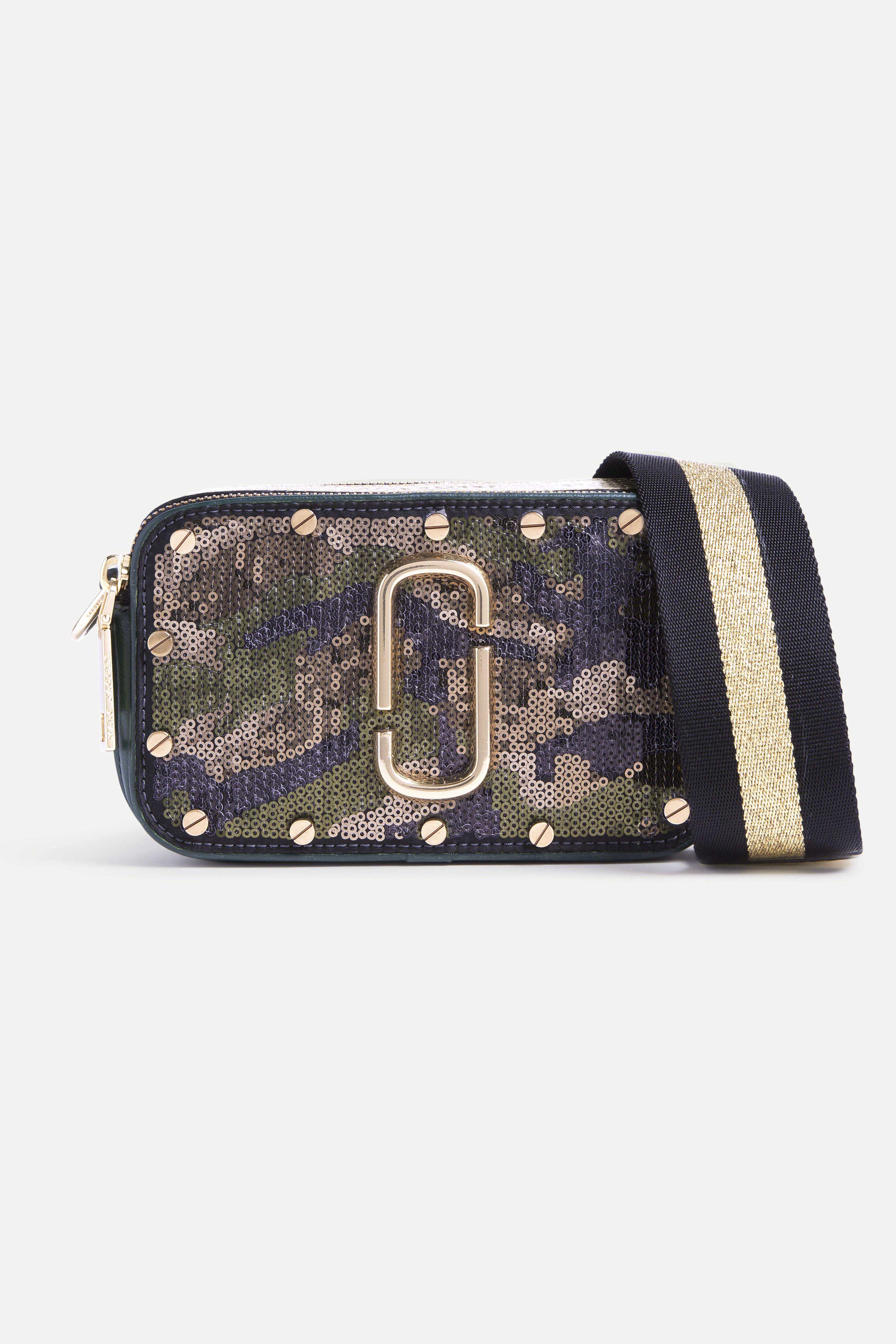 Marc Jacobs 1 - Sequins Camo Snapshot - Army Multi