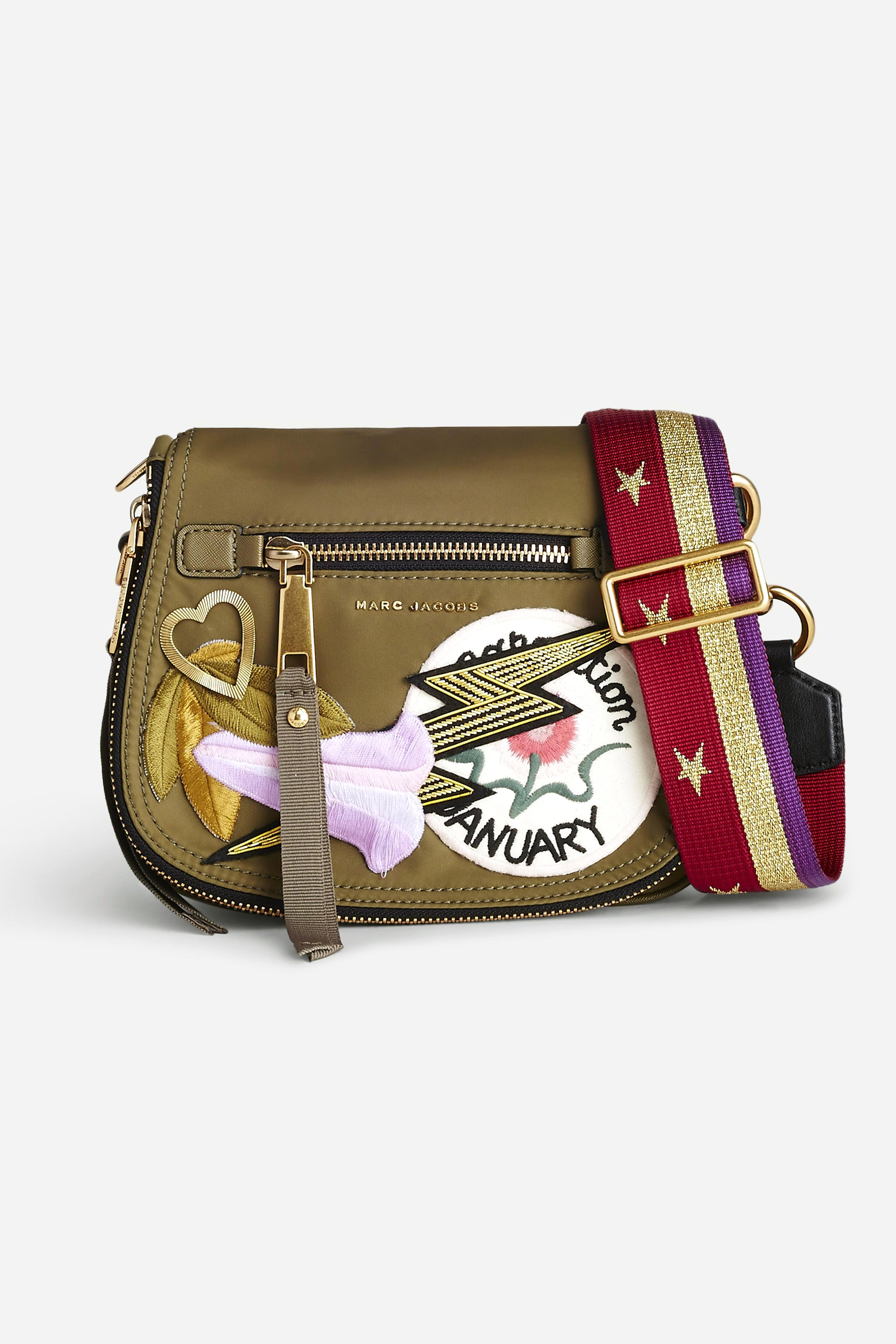 Marc Jacobs 18 - Nylon Patchwork Small Nomad - Military