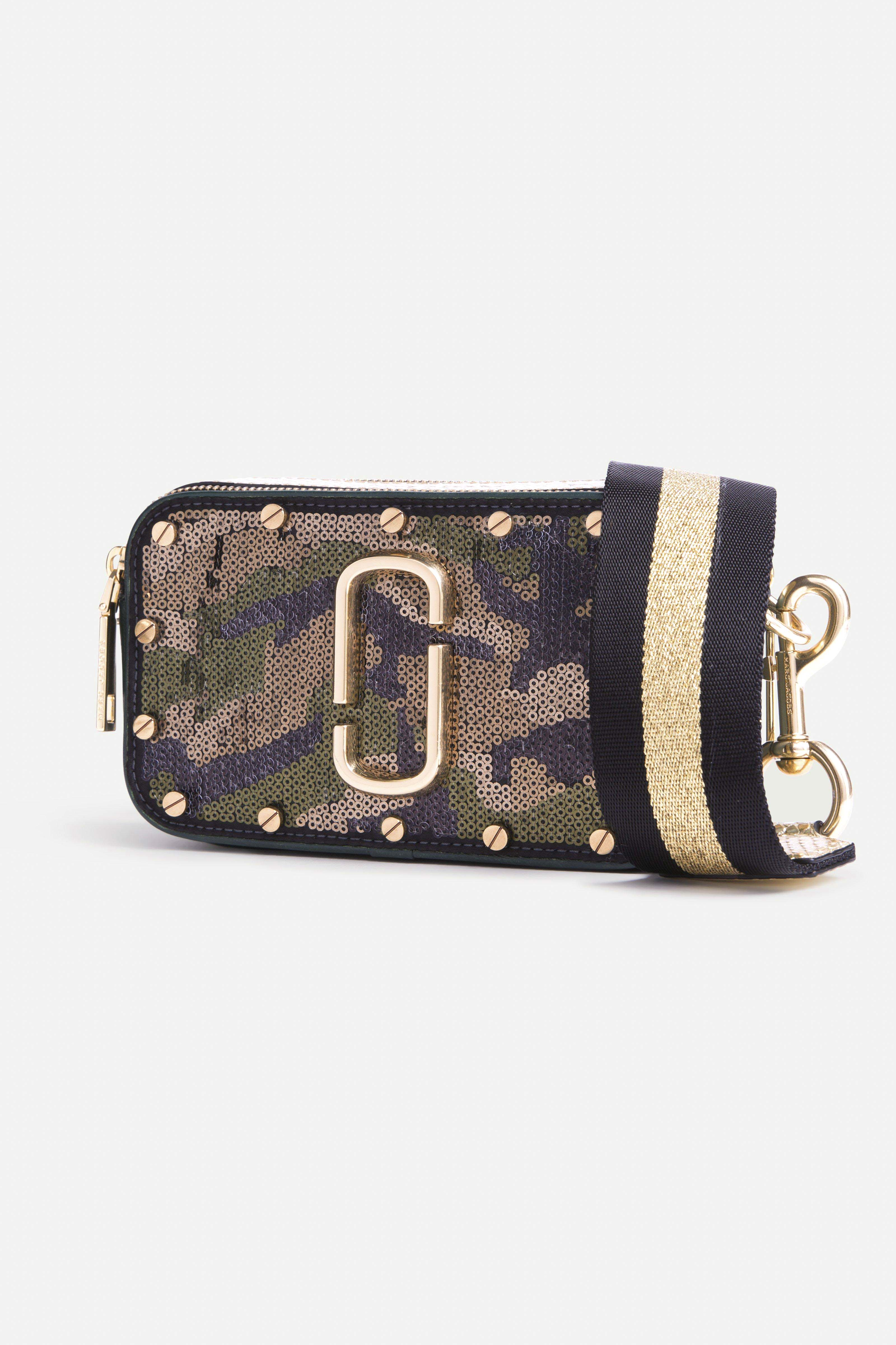 Marc Jacobs 2 - Sequins Camo Snapshot - Army Multi