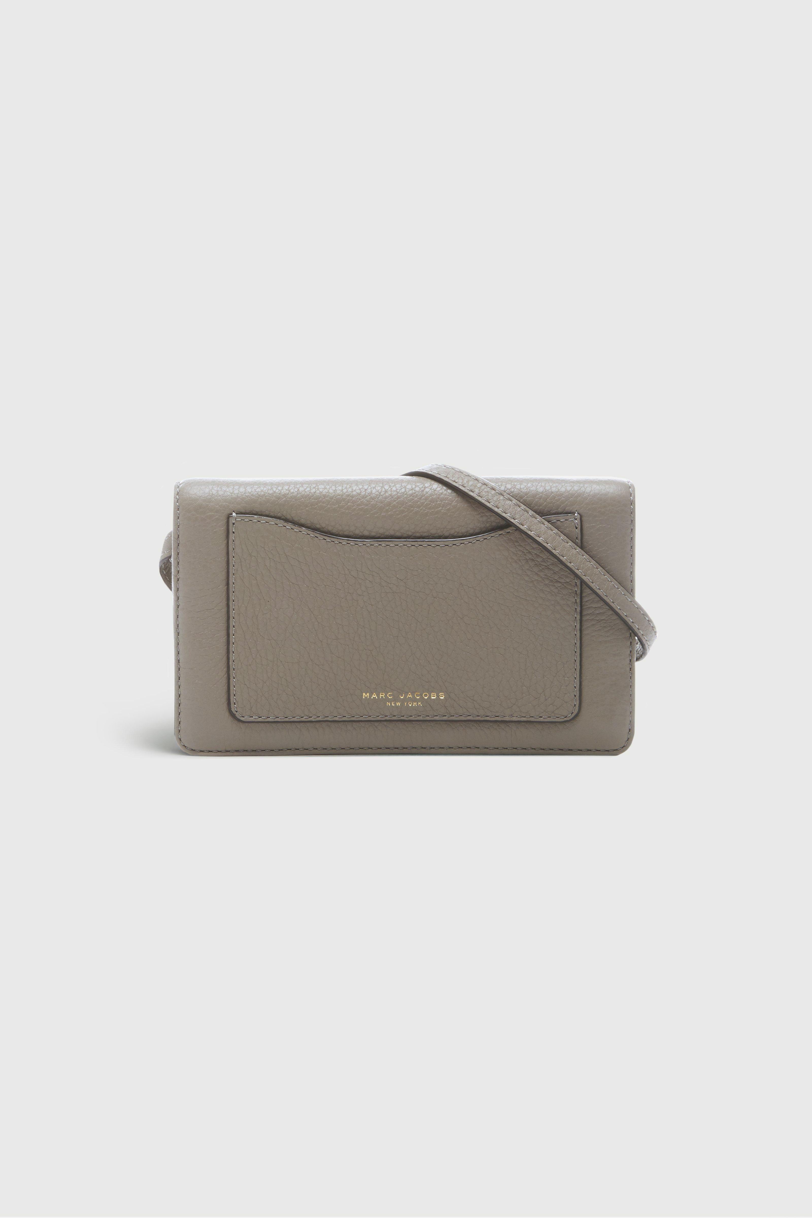 Marc Jacobs 28 - Recruit Wallet Leather Strap - Mink