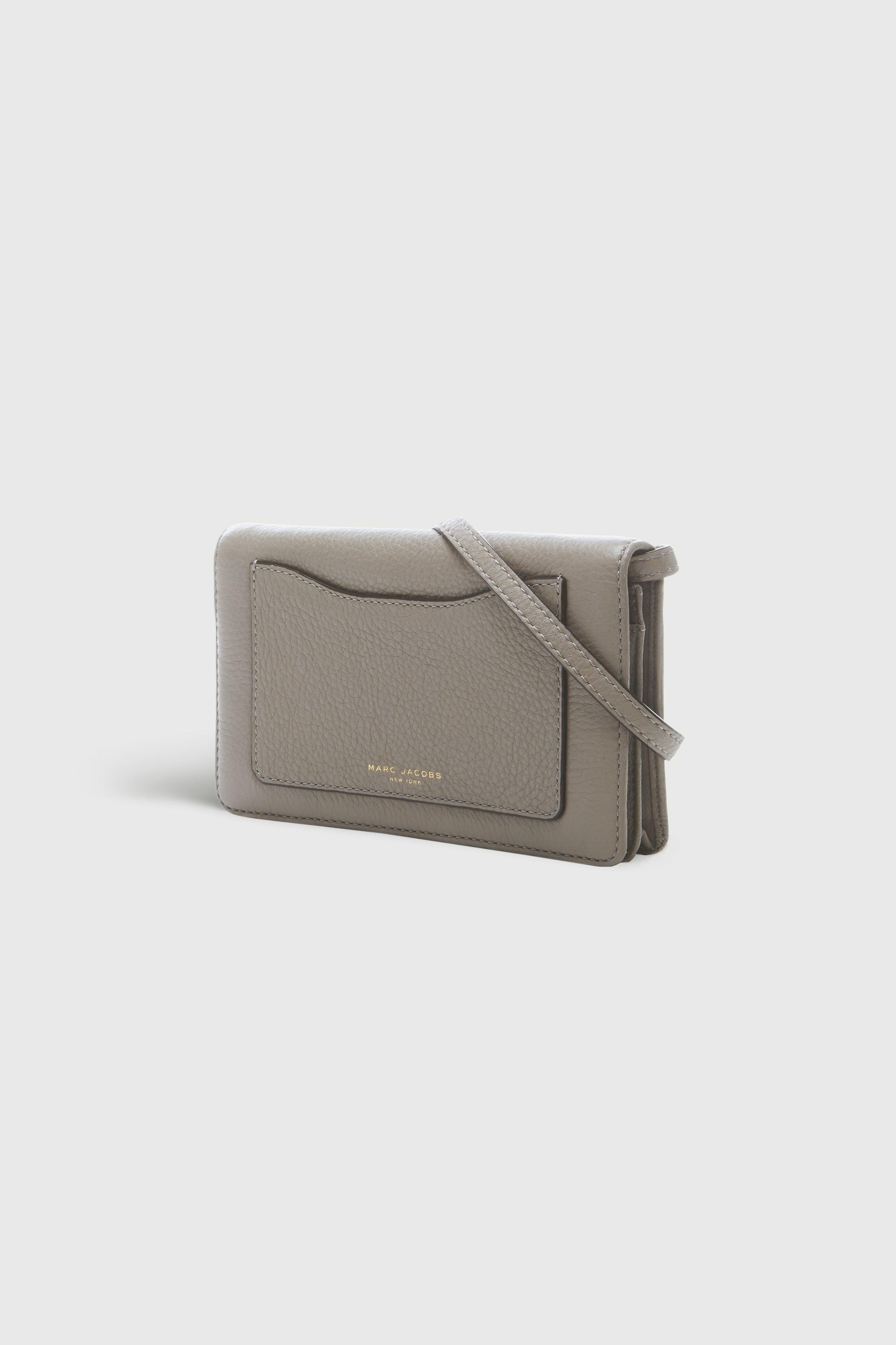 Marc Jacobs 29 - Recruit Wallet Leather Strap - Mink