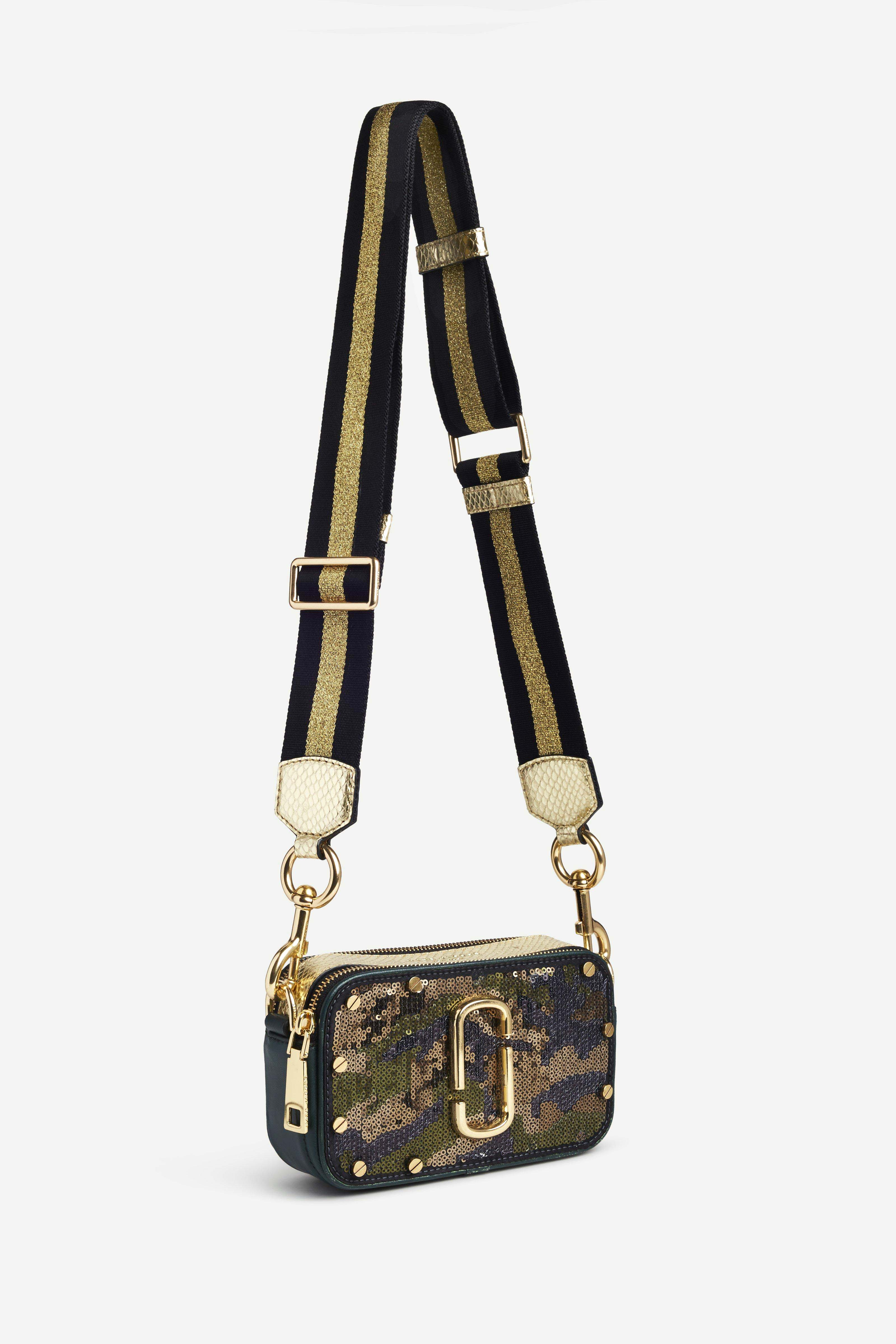 Marc Jacobs 3 - Sequins Camo Snapshot - Army Multi