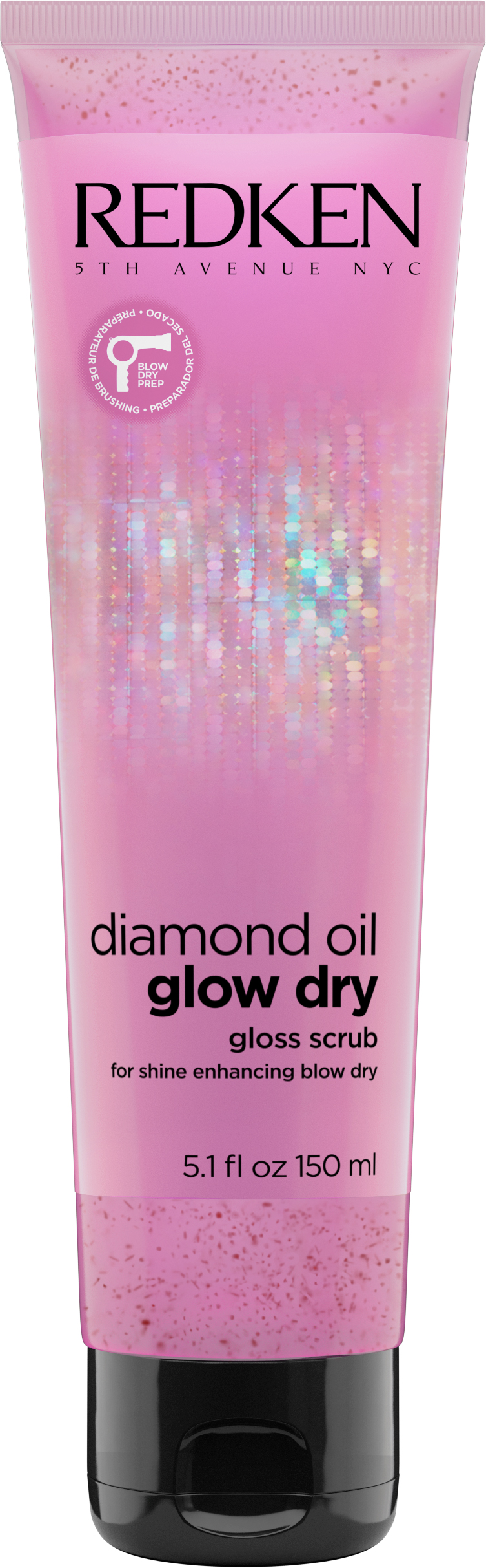 Redken Diamond Oil Glow Dry Gloss Scrub RRP$35.00