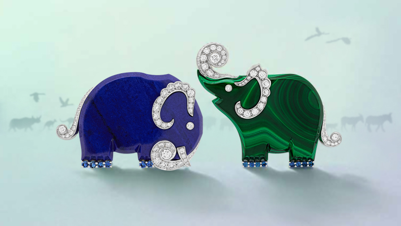 Van Cleef & Arpels have crafted a beautiful new collection of broaches, modelled on Noah's Ark.