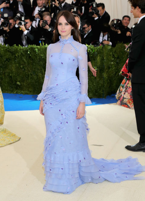Felicity Jones wearing Erdem