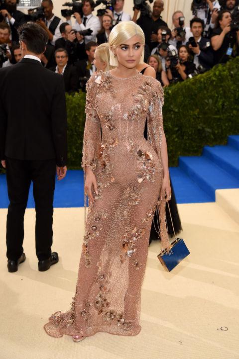 Kylie Jenner wearing Atelier Versace