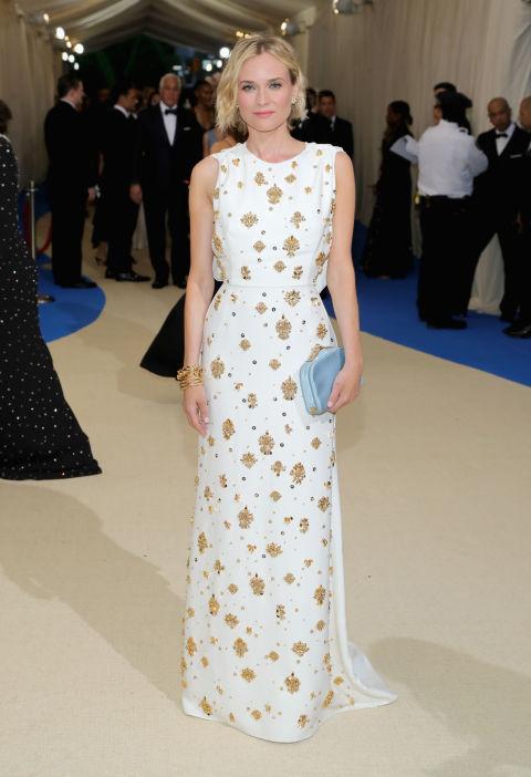 Diane Kruger wearing Prada