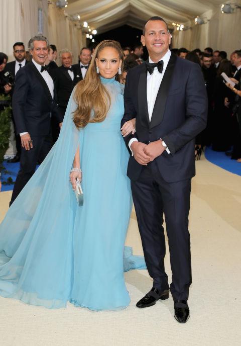 Jennifer Lopez wearing Valentino