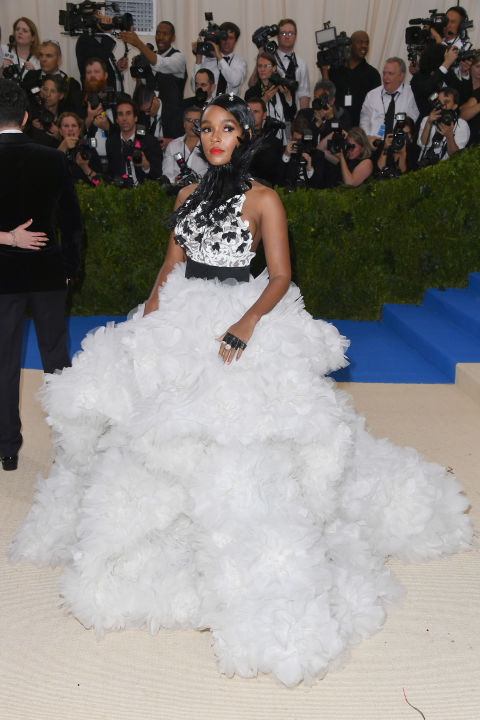 Janelle Monáe wearing Ralph Russo