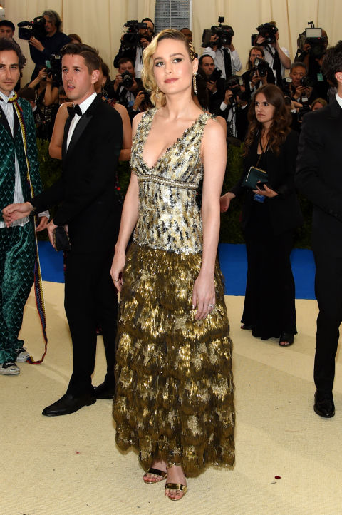 Brie Larson wearing Chanel