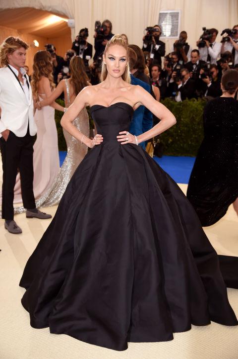 Candice Swanepoel wearing custom Topshop
