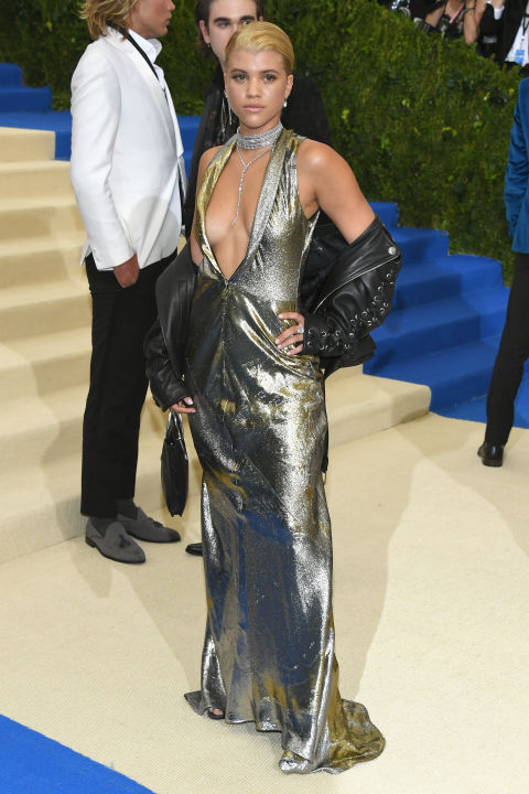 Sofia Richie wearing Topshop