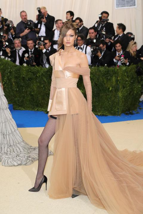 Gigi Hadid wearing Tommy Hilfiger