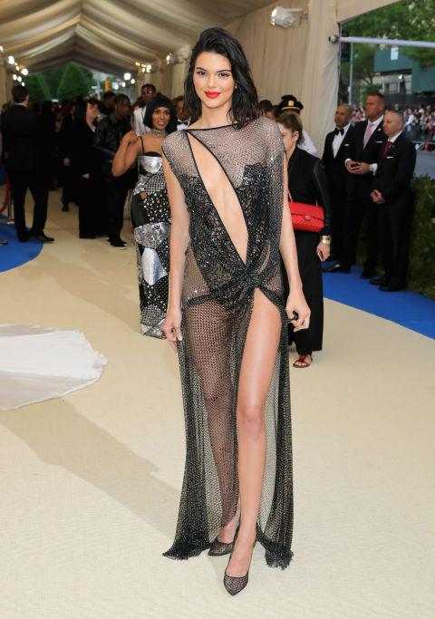 Kendall Jenner wearing La Perla
