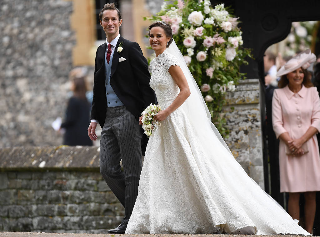 Pippa Middleton had a gorgeous Traditional Wedding at St. Marks Church in Englefield, Berkshire, England.