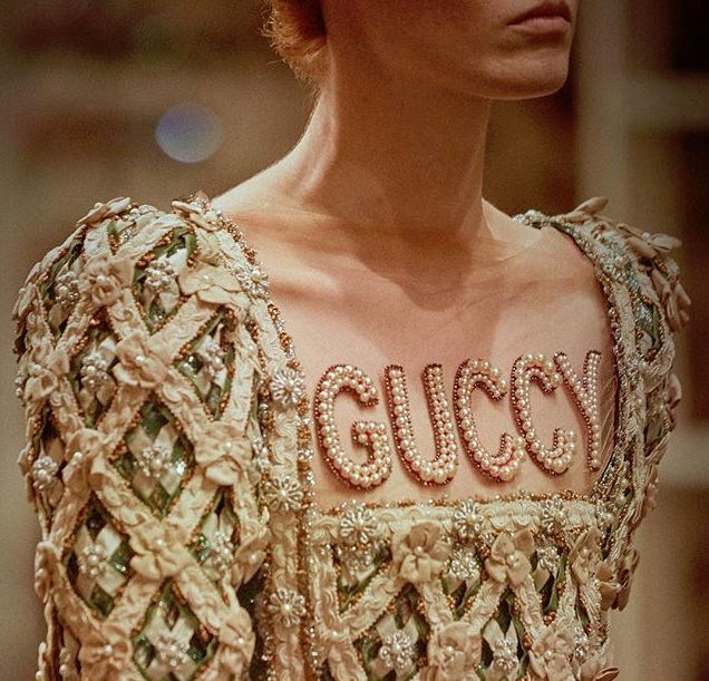 Gucci presented their Cruise 2018 collection at the Palazzo Piti in Florence.