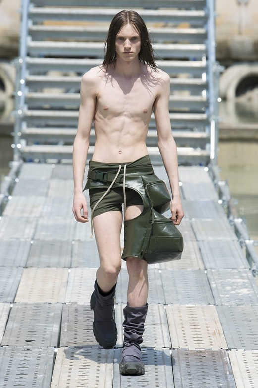 Rick Owens was one of the many designers showing their latest collection at Paris Fashion Week Men's.