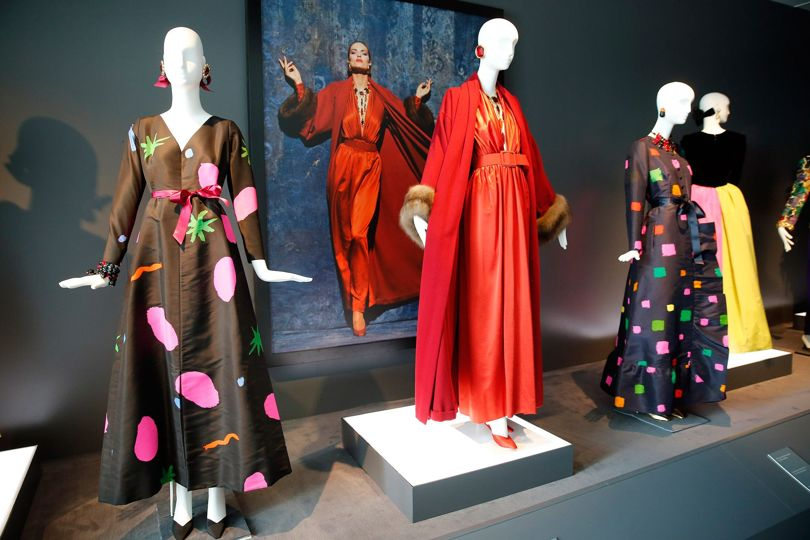 Hubert de Givenchy is showcasing a self-titled fashion exhibition at the Calais Museum for Lace and Fashion.
