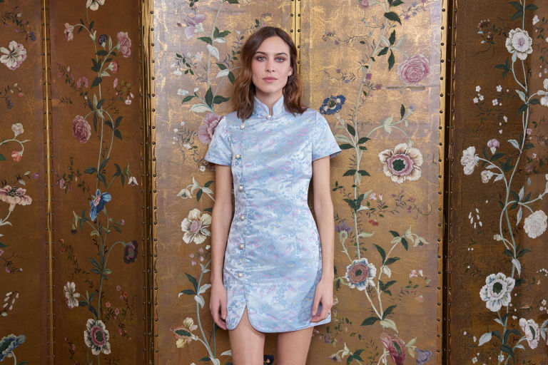 Alexa Chung's much anticipated eponymous collection has finally launched.