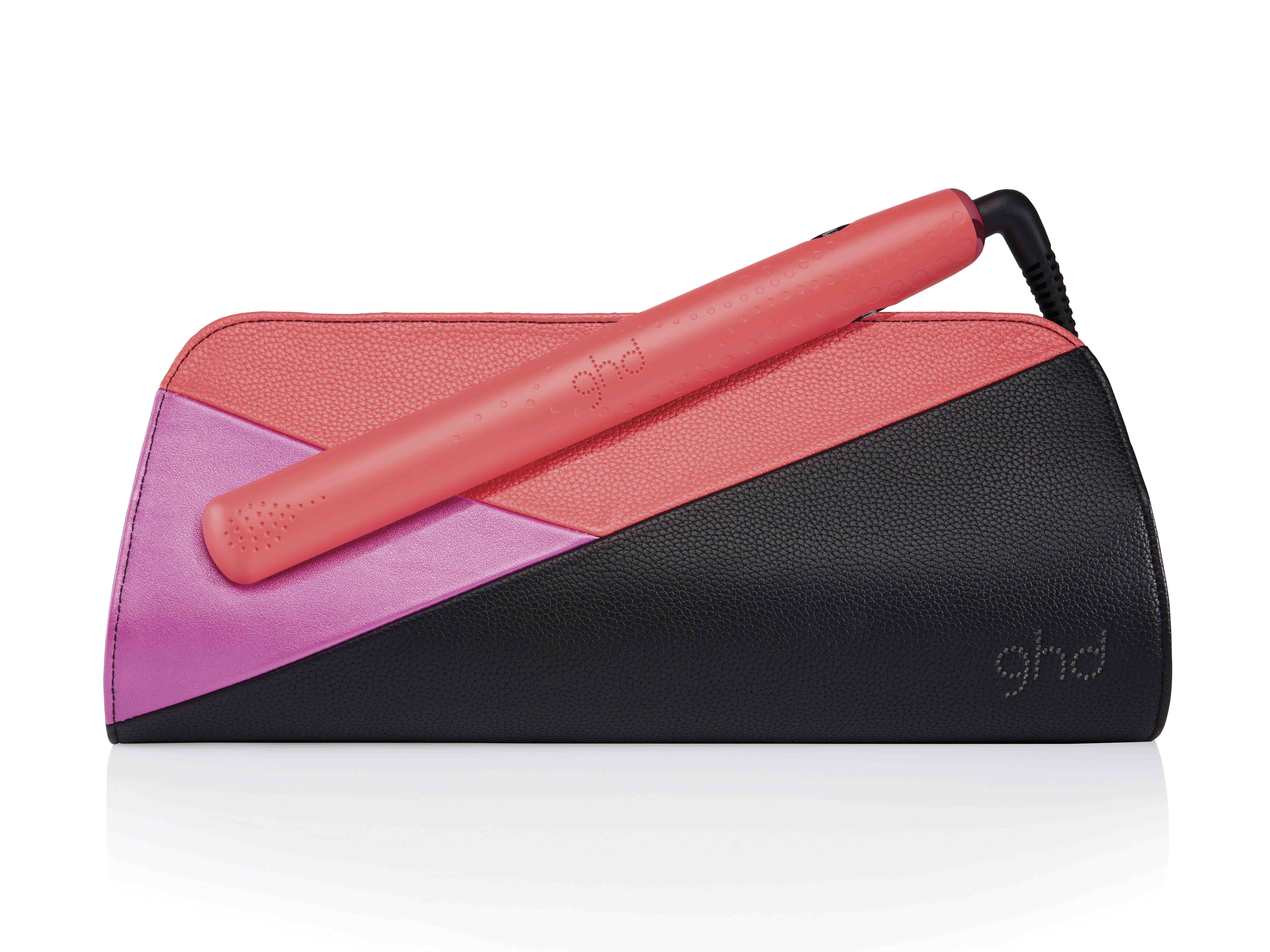 ghd pink blush V styler with roll bag_RRP $320