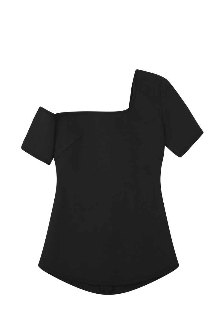 72dpi-239131a97b-72.-BY-JOHNNY,-One-Cold-Shoulder-Structure-Top-Black,-200,-www.byjohnny.com.au