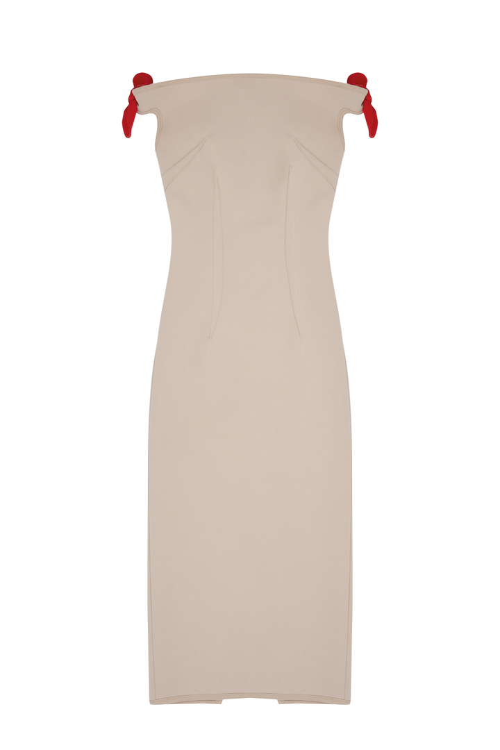 72dpi-239214ee96-14.-BY-JOHNNY,-Bare-Shoulder-Tie-Dress-Nude-Chili,-370,-www.byjohnny.com.au